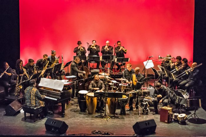 photo of jazz orchestra