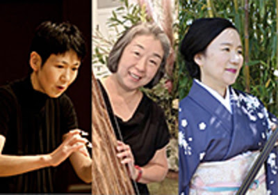 photo of experienced koto players